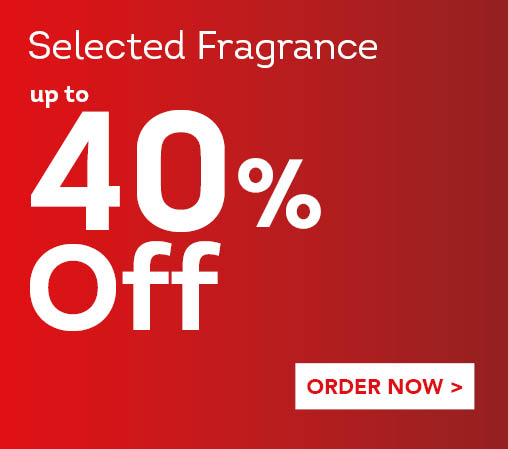 Save up to 40% off Selected Fragrance